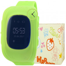 Smart Kids Watch FW01 зеленые с GPS