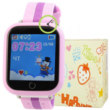 Smart Kids Watch FW03T сиреневые с GPS