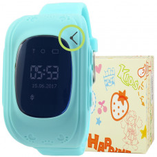 Smart Kids Watch FW01 голубые с GPS