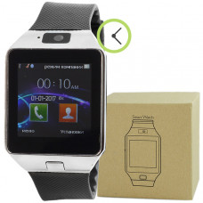Smart Watch DZ09 cеребристые