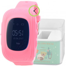 Smart Kids Watch FW01 малин с GPS