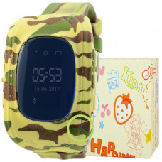 Smart Kids Watch FW01 хаки с GPS
