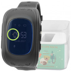 Smart Kids Watch FW01 черные с GPS