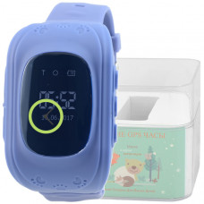 Smart Kids Watch FW01 синие с GPS